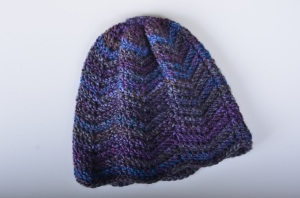 Chevron Striped Winter Hat