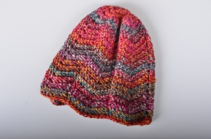 Chevron Striped, Winter Hat