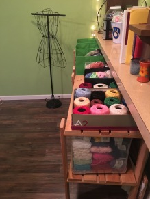 I have a lot of yarn.